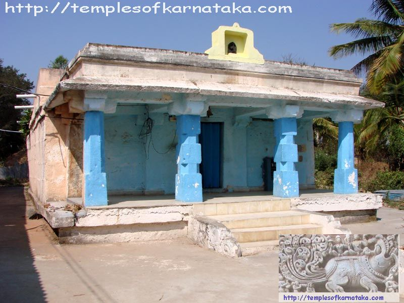 East view of Sri.Lakshmi Channakeshava, Kowsika