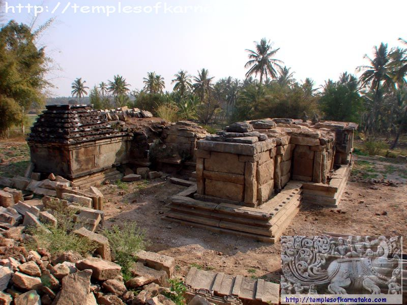 West view of Sri.Eshwara Temple