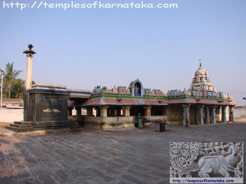South East view of Sri.Lakshmi Devi Temple