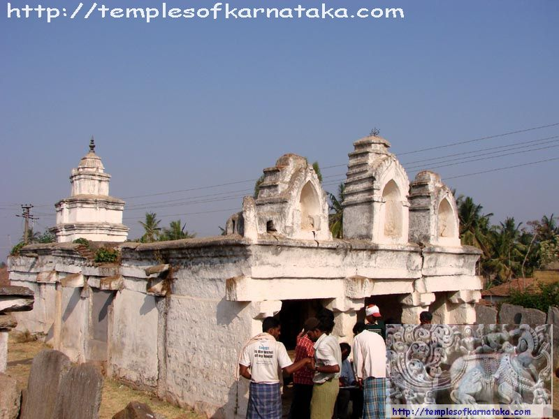 East view of Sri.Ranganatha Swamy Temple Markuli