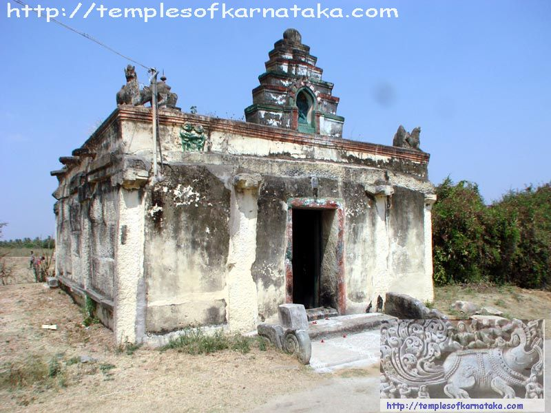South West View of Sri.Anjaneya Temple