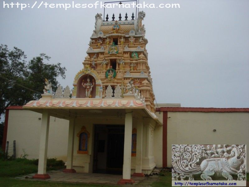 Front view of main Gopura
