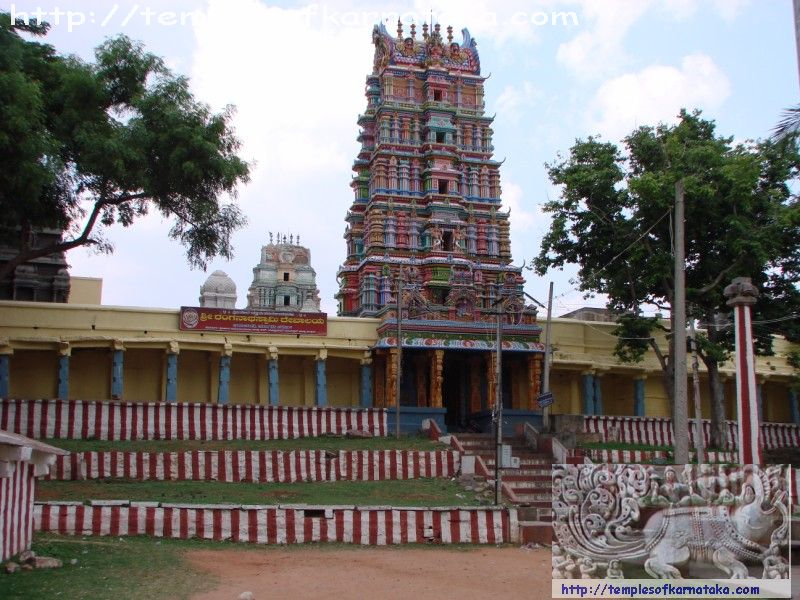 West View of Sri.Ranganatha Temple