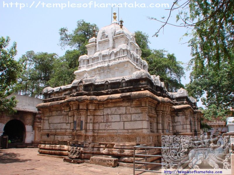 Sri.Mahakuteshwara Temple South West View