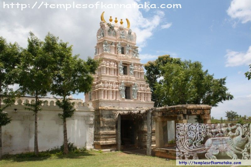 West View of Sri.Lakshmi Narasimha Temple