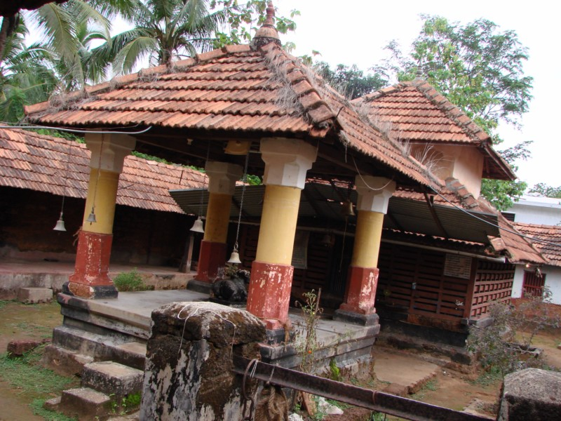 North East View of Sri.Someshwara Temple