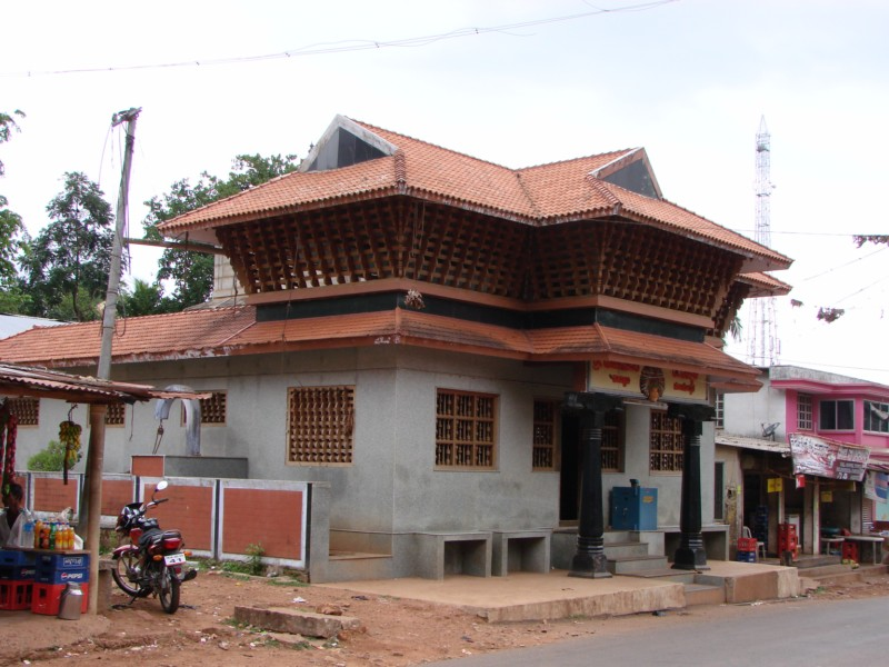 North East View of Sri.Ganapathy Temple