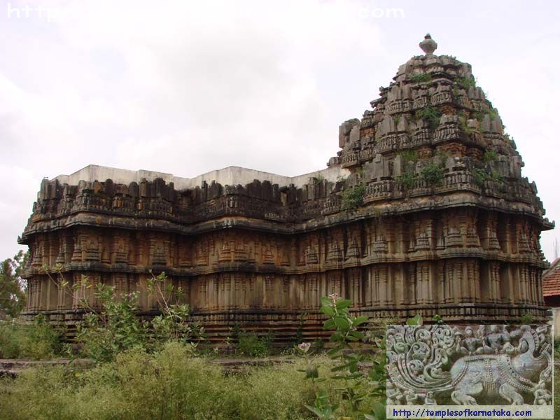 Adagur - Channakeshava Temple - North West view