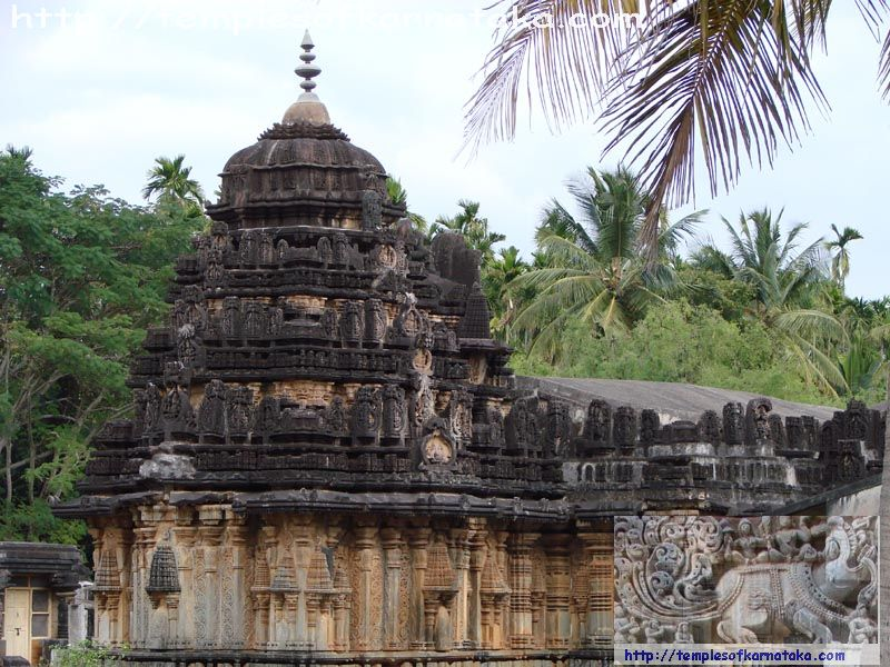 Amruthapura - Amritheshwara Temple - South West view