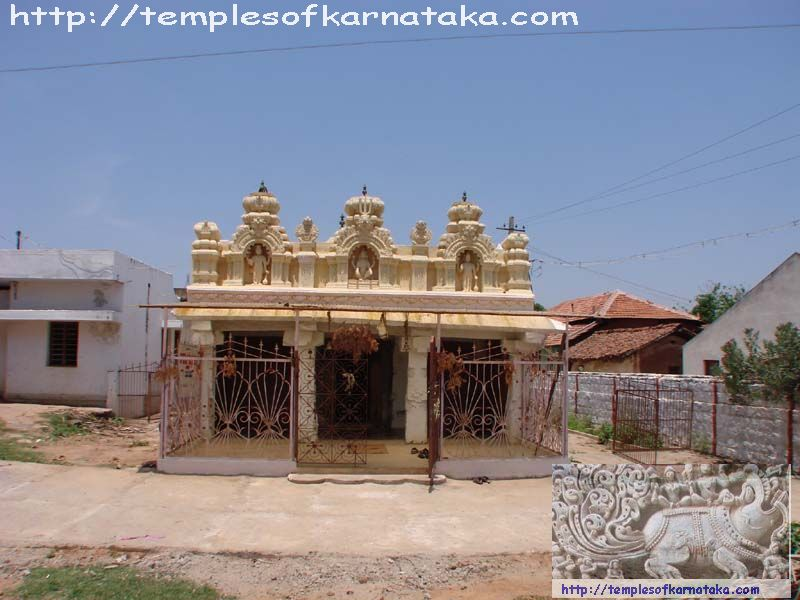 Bagur - Lakshmi Narasimha Temple - East view