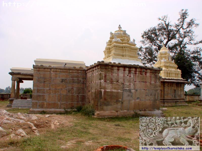 Belagola -  Sri.Yoga Narasimha   Temple - North View