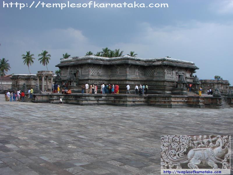 Belur - Channakeshava Temple - South East view