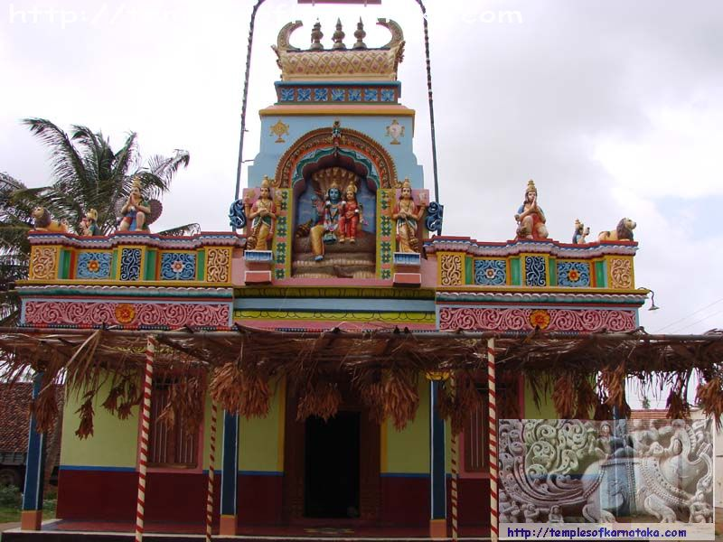 Chikkonahalli - Ranganatha Temple - West view