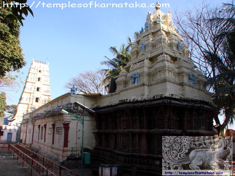 South West view of Sri.Kodandarama Temple