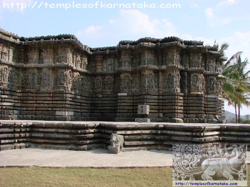 Halebeedu - Kedareshwara Temple - South view