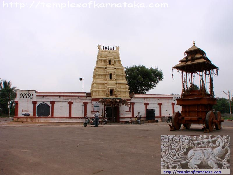 Hebbalu -  Sri.Lakshmikantha   Temple - South East View