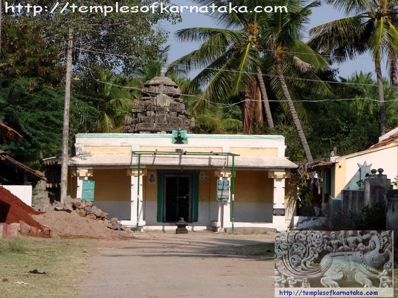 Hedthale -  Sri.Nagareshwara   Temple - West View
