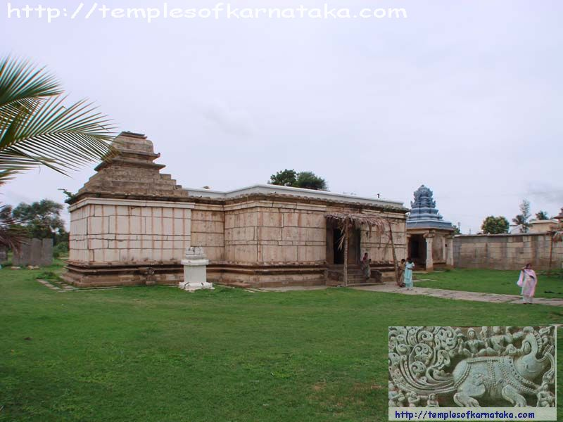 Kaidala - Channakeshava Temple - North view