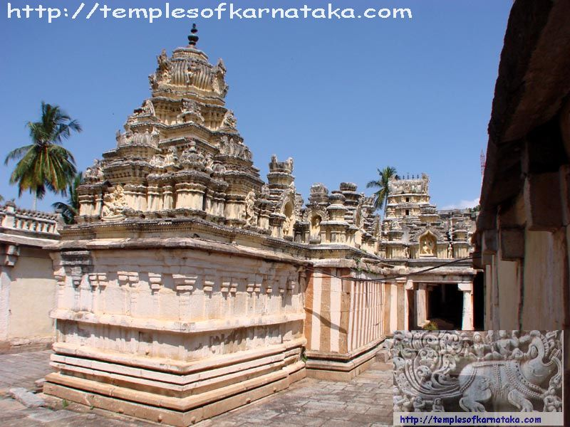 Kalale -  Sri.Lakshmikantha   Temple - South West View