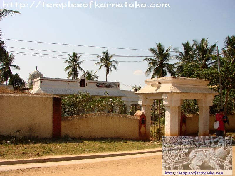 Kalale -  Sri.Someshwara   Temple - South East View