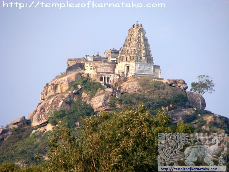 Melukote -  Sri.Yoga Narasimha   Temple - South View