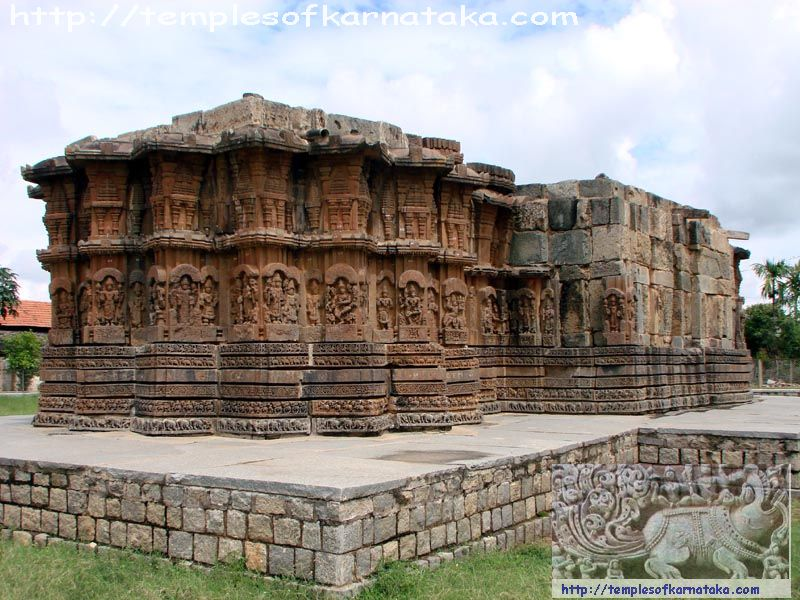 South West View of Channakeshava Temple