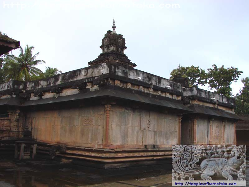 Keladi - Rameshwara Temple - South West view
