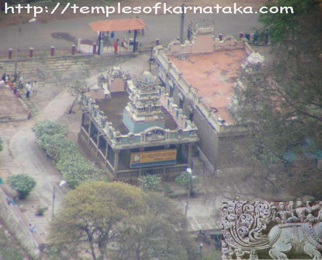 Savandurga - Lakshmi Narasimha Temple - Top view