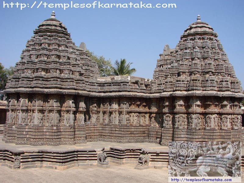 Somanathapur - Keshava Temple - South West view