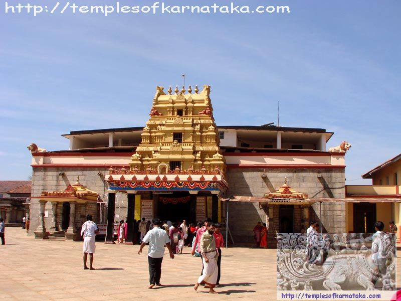 East View of Sringeri Sharadambe Temple