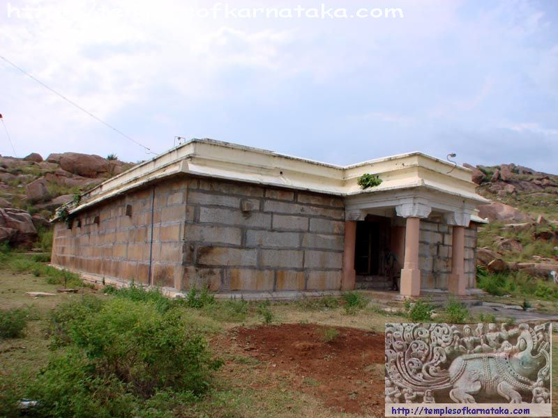 Tondanur -  Sri.Yoga Narasimha   Temple - South West View