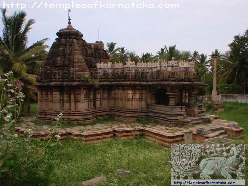 Turuvekere - Moole Shankara Temple - South view